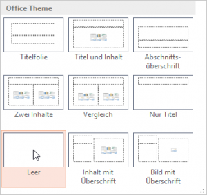 PowerPoint-Standard-Layouts